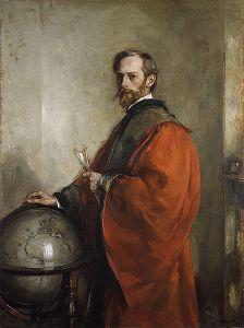John George Bartholomew, by Edward Arthur Walton (1911)