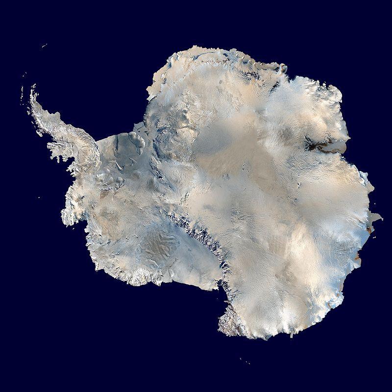 Antarctica (NASA/Blue Marble)
