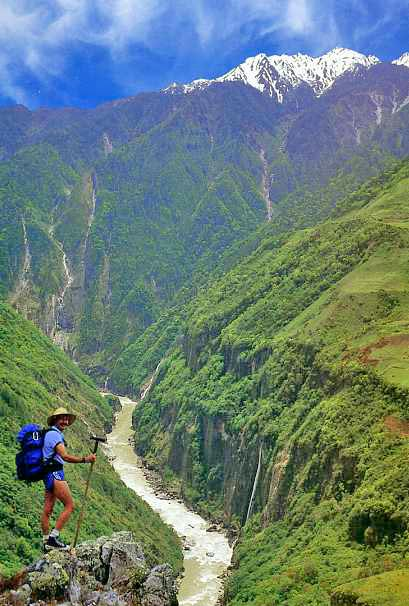 The Riddle of the Tsangpo Gorge – part one – Jo Woolf