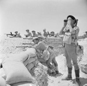 British defences at El Alamein