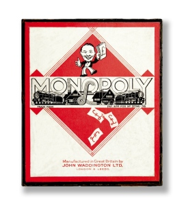 WWII Monopoly set
