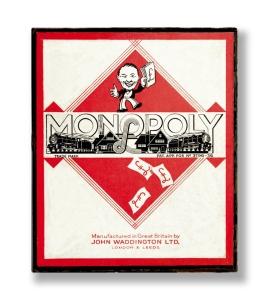 WWII Monopoly set