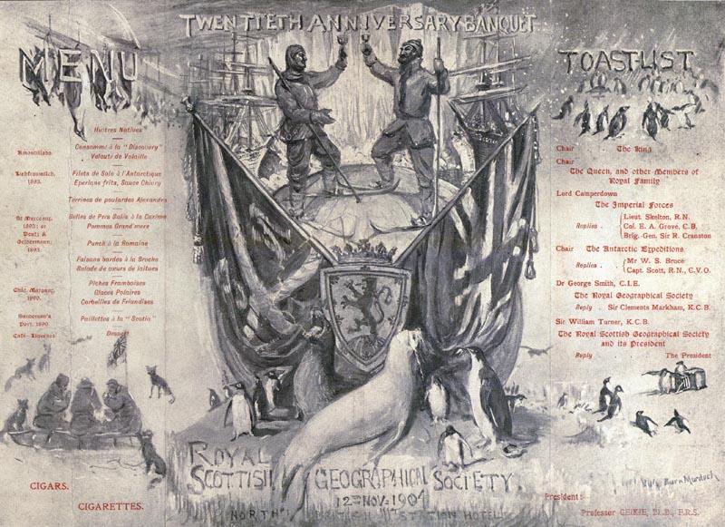 Bruce banquet 1904 1