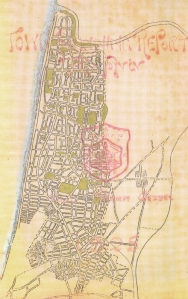 Geddes' town plan for Tel Aviv, 1925
