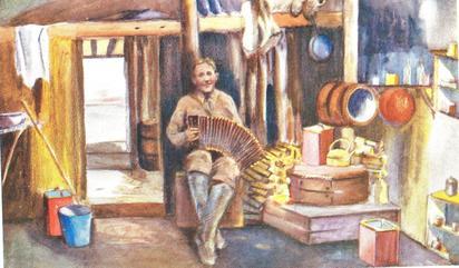 Gus Masik by Isobel Wylie Hutchison, courtesy NLS