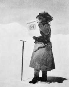 Photo by William Hunter Workman, 31st July 1912, on Siachen Glacier, Karakoram, at nearly 21,000 feet