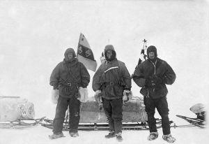 Shackleton, Scott and Wilson in November 1902