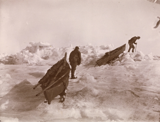 Nansen and Johansen, 1895